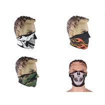 Mascara De Neopreno Motocilcista Media Cara 2 Vistas 4modelo