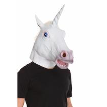 Máscara Unicornio Disfraz Halloween Harlem Shake Creepy Hors