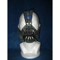 Máscara Bane Dark Knight Batman Latex Comics Halloween