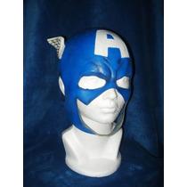 Máscara Capitán América Avengers Vengadores Halloween