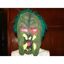 Oferta Halloween Mascara Depredador Silicon Tamaño Grande