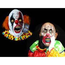 Mascara Payaso Diabólicos, Terror, Halloween Día De Muertos