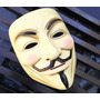 Máscara V De Venganza, Anonymous Original Nueva Edición
