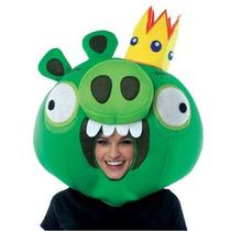 Mascara De King Pig De Angry Birds Para Adultos Envio Gratis