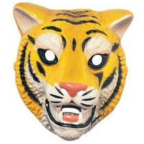 Máscara De Tigre Animal Costume Accessory