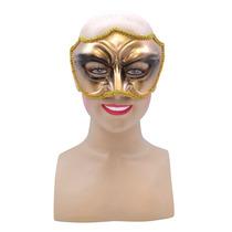 Masquerade Costume - Oro Negro Ojo Mascarilla Con Surround