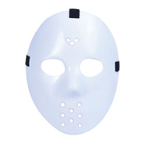 Disfraz De Halloween - Horror Adultos Plástico Hockey Másc