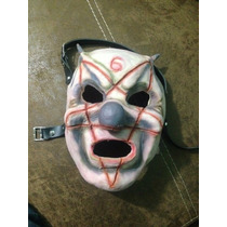 Mascara Clown Slipknot Nuevo Modelo Latex Halloween