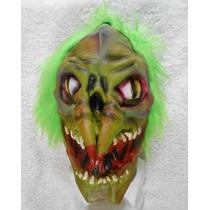 Halloween! Extraña Máscara Nariz De Dedos, Completa Con Pelo