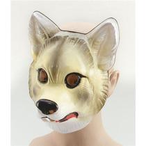 Máscara Del Lobo - Plástico De Disfraces De Animales Hasta