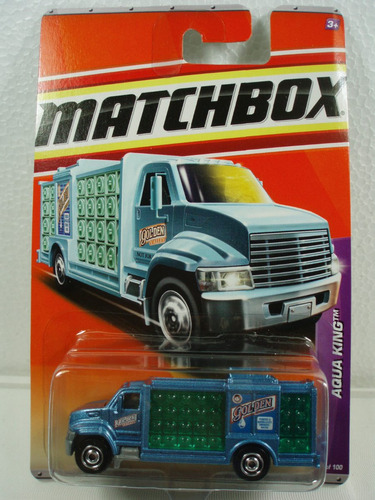 Matchbox Camion Agua Purificada Aqua King Metal