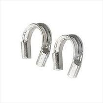 Bucles Protección Plata De Ley Para Hilo Y Alambre .5mm (10)