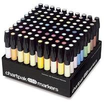 Marcadores Chartpark Set De 100 Colores