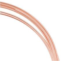 Brazalete Cable C/memoria Acero Inoxidable Chapado En Cobre