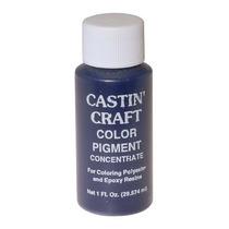 Castin Craft Tinte Pigmento Azul Opaco Resina Epóxica Moldeo