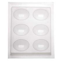 Molde Resina Epoxy Para Piezas De Joyería - Diseños Ovales