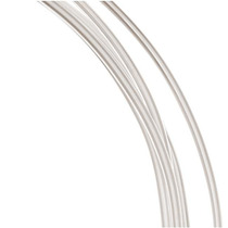 99.9% Cable Plata Fina Calibre 14 Muy Suave 1 Oz 1.21 Metros