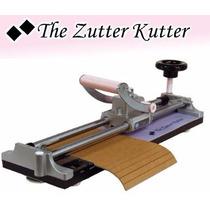 Scrapbook Cortadora Zutter Kutter Papel Cartoncillo Foam Mdf