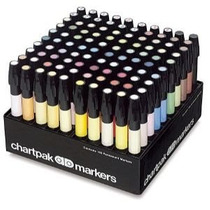 Marcadores Chartpark Set De 100 Colores Oferta!! Op4