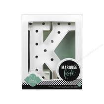 Marquee Letter K Letra K De Marquesina Para Decorar