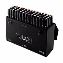 Set De 36 Marcadores Profesionales Touch Caja Plumones