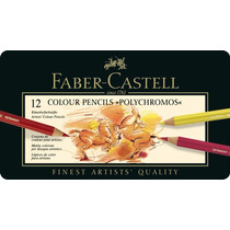 Faber-castell Polychromos Colored Pencils (sets) Set Of 12