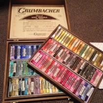 Vintage Grumbacher Pasteles Para Astistas