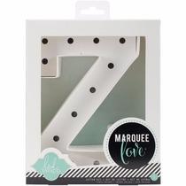 Marquee Letter Z Letra Z De Marquesina Para Decorar
