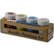 Pintura Acrílico Set - Pintura 4 Colores Childrens Art