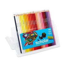 Prismacolor Scholar Colored Pencils, Set Of 48 Assorted Colo