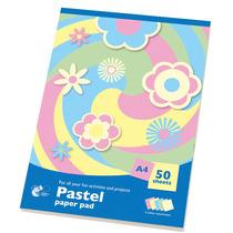 Art Paper Pad - 151 Colores Pastel A4 50 Hojas Actividades D