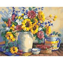 Pintura Por Números - Paintsworks Girasol Bodegón