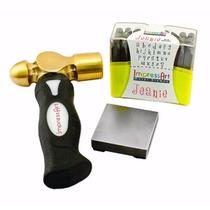 Sellos Metal Impressart Metal Stamping Kit- Jeanie Lowercase