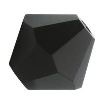 Preciosa Cuentas Checas 4mm Bicono Negro Azabache (50)