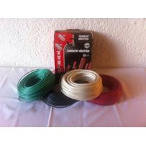 Cable Thw-ls Marca Iusa Calibre 12 (rojo-verde-blanco-negro)