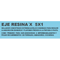 Sellador 5x1 Acrílico Base Agua Eje Resina´x 5x1 De 19 Lt