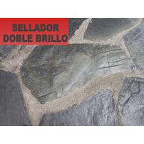 Sellador Doble Brillo Db Para Pisos De Concreto Estampado 4l