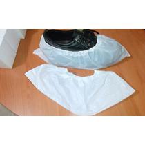 Cubre Zapato Desechable (polietileno Alta Densi) 100 Pzas