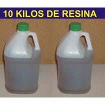 10 Kilos De Resina Para Fibra, Rellenar, Pegar, Encapsular.