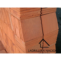 Millar Ladrillo Tabique Rojo Tipo Cuadrado 30x30x2.5cm