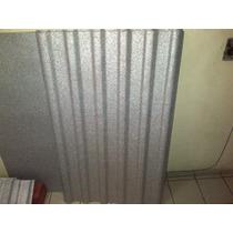 Lamina Acanalada Termo-acústica De Polialuminio