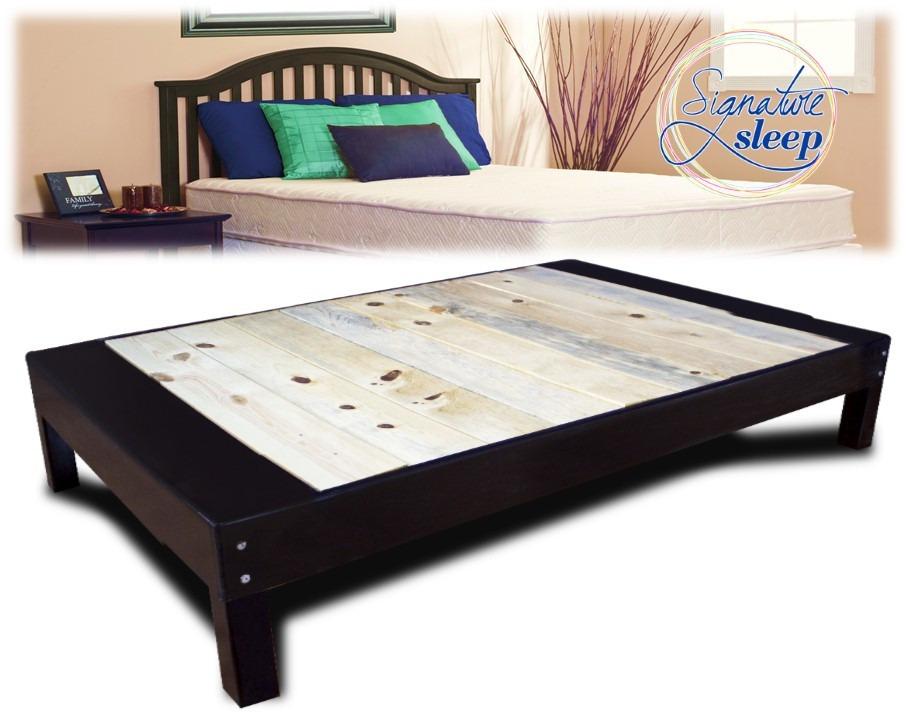 Matrimonia base cama tipo box para recamara cama en madera - Bases de camas de madera ...