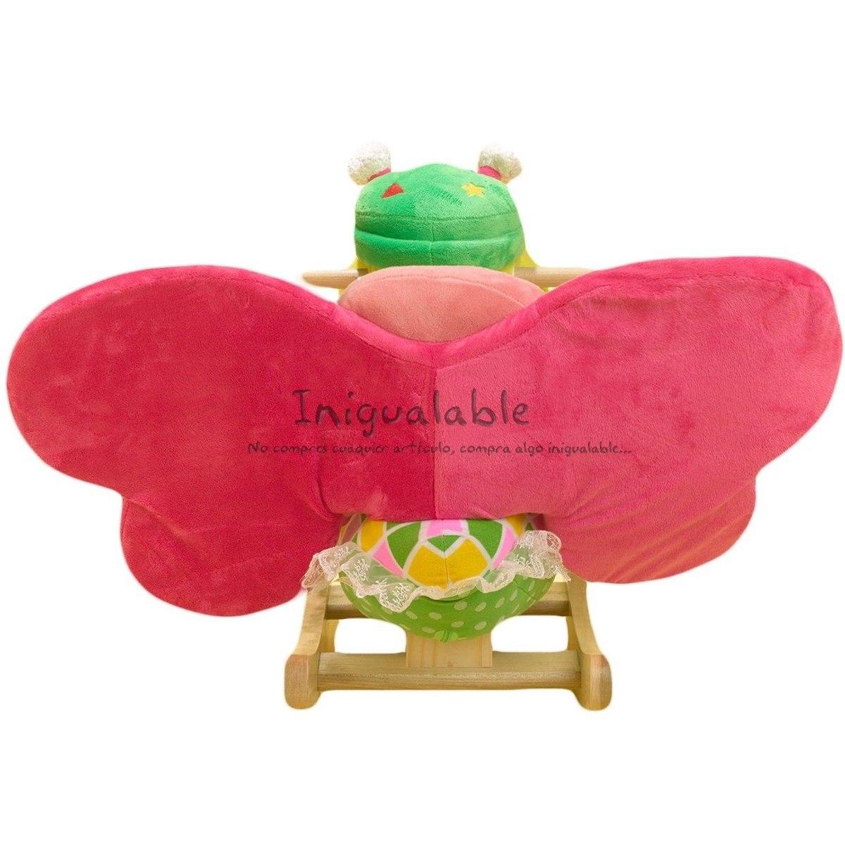 Mecedora de mariposa para ni os con sonidos musicales - Mecedora para ninos ...
