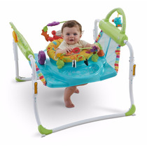 Jumpero Brincolin Brinca Fisher Price First Steps 2in1 Bebe