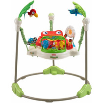 Jumperoo Fisher Price Bebe Rainforest Brinca Con Seguridad