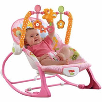 Fisher Price Silla Mecedora Vibrador Bouncer Bebe Crece Conm