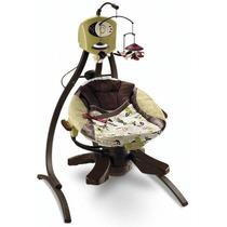 Silla Cuna Columpio Fisher-price Zen Collection- Café