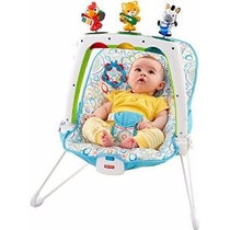 Sillita Mecedora Bebe Bouncer Fisher-price First Steps