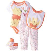 Disney Baby-girls Winnie Pooh Niñas De 4 Piezas Set
