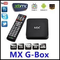 Android Tv Box Top Set Dual Core 4.2.2 Mx ,xbmc Midnight